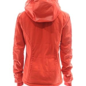 Athleta Jackets & Coats - ATHLETA ORANGE MARIBEL SKI JACKET SIZE SMALL
